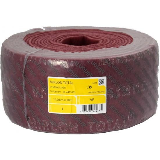 MIRKA Шлифовальный войлок MIRLON TOTAL 115 мм x 10м - красный 815BY001373R