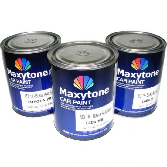 """MAXYTONE Базовое покрытие """"металлик"""" 1K- Basis Autolack 1л RENAULT В64 холодний сірий"""