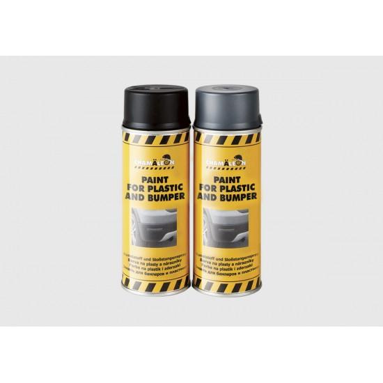 26334CHAMAELEON 633 Bamper Paint краска для бампера черная в аэрозоли400мл