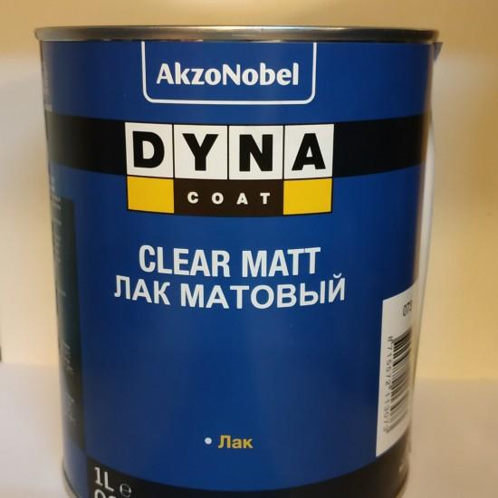 DYNA Матовый лак Clear Matt 1л + отвердитель Dynacoat Flexi Hardener Medium 0,5л