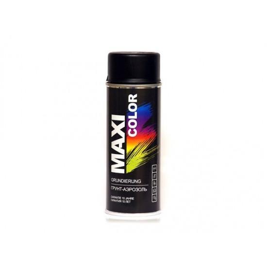 MAXI COLOR Грунт черный 400 мл MX0004