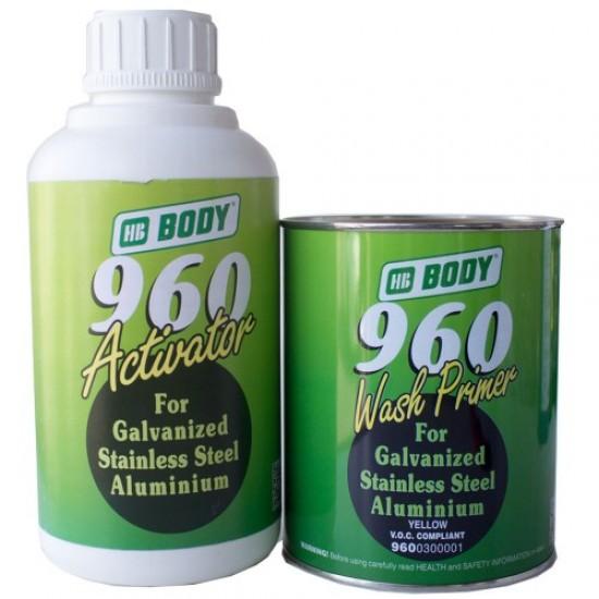 BODY Грунт 960 Wash primer протравливающий 1л + активатор 1л