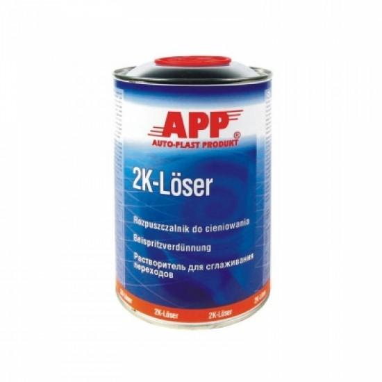APP Растворитель акриловый для переходов APP-2K Loser 1л