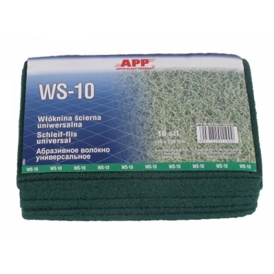 APP Волокно абразивное универсальное / зеленое 155 x 230 мм WS-10 1шт