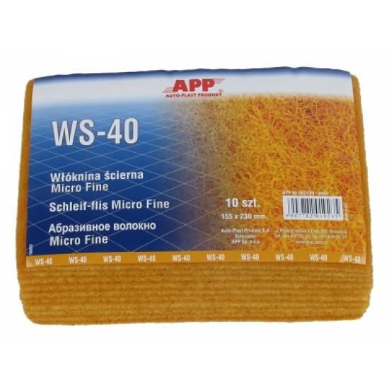 APP Волокно Micro Fine / желтое WS-40 155 x 230мм 1шт
