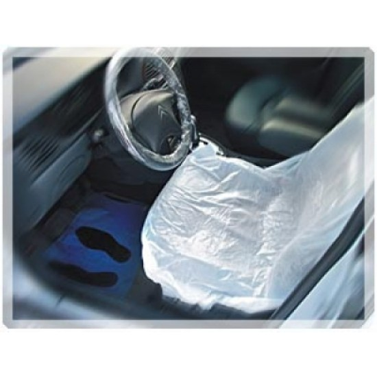 APP Защитные чехлы-накидки на сидения LDPE, 79см x 130см (рулон = 500 штук)