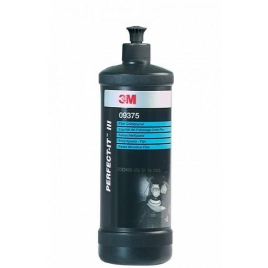3M Тонка абразивна паста №2 Fine Compound, 1 л  09375
