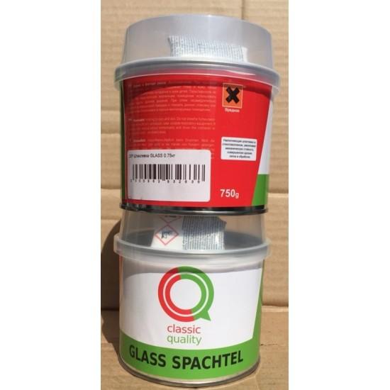 Classic Quality Шпатлевка со стекловолокном Glass 0,75кг