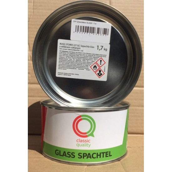 Classic Quality Шпатлевка со стекловолокном Glass 1,7кг