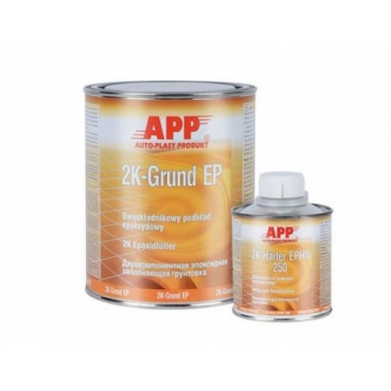 APP Грунт эпоксидный 2K Grund EP 1л + Отвердитель Harter EP 0,2л