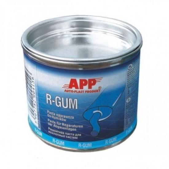 APP Ремонтная паста для быстрого ремонта глушителей в банке АРР R-GUM 200г