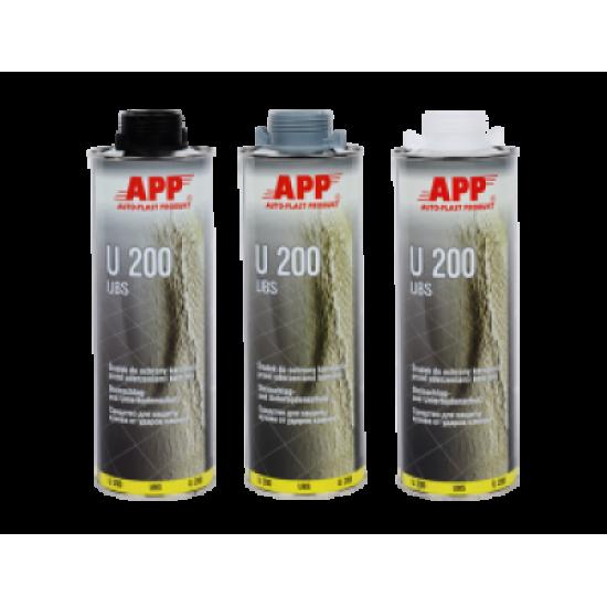 APP Средство для защиты кузова APP-U200 Baranek черный 1л