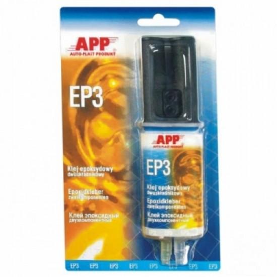 APP Клей двухкомпонентный эпоксидный (2х15мл) 30мл