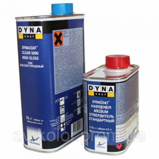 DYNA Лак Clear 5000 HG 1л с отвердителем Hard Med 0.5л