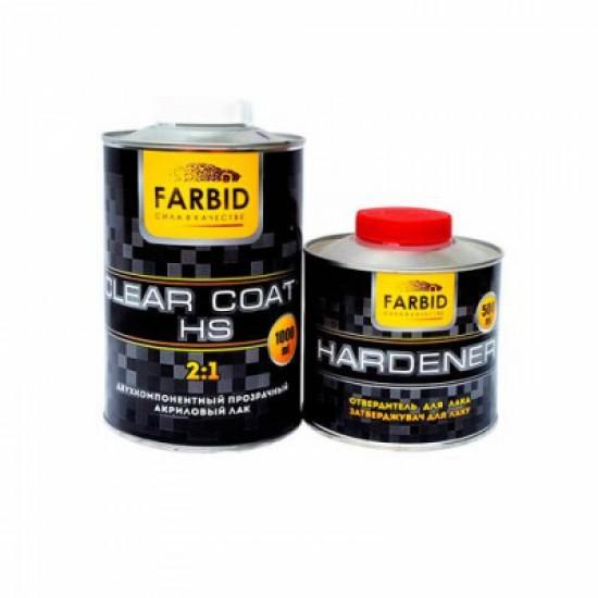 FARBID Лак HS 1л + отв-ль 0,5л