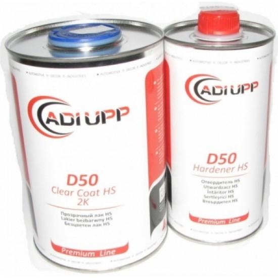 ADI UPP Лак D50HS 1л. + отвердитель для лака D50HS 0,5л